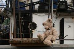 Marinero del oso del peluche Imagenes de archivo