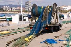 Marineros y ocupaciones de la pesca Fotos de archivo libres de regalías