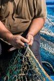 Marineros y ocupaciones de la pesca Foto de archivo libre de regalías
