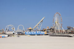 Mariners Landing Amusement Pier and water park Stock Image