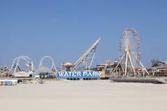 Mariners Landing Amusement Pier and water park. In Wildwood New Jersey Stock Image
