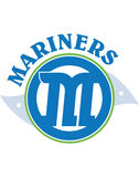 Mariners sign. Illustration of mariners sign or badge isolated on white background Royalty Free Stock Photos