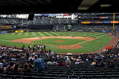 Mariners x Padres Safeco Field Royalty Free Stock Images