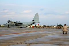 Marines embarquant C.A. - 130 photos libres de droits