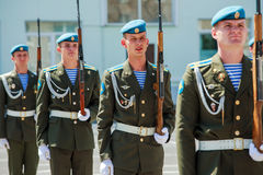 Marines of the Russian army Royalty Free Stock Photography