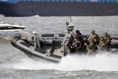 Marines speedboat Stock Photo