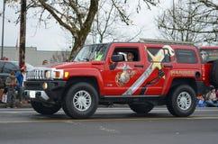 Marines vehicle Stock Photography