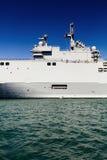 Marineschiffsdetail Lizenzfreie Stockbilder