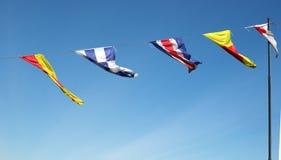 Marinesignalflaggen Lizenzfreies Stockbild
