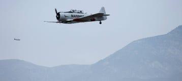 Marinevliegtuig Stock Afbeelding