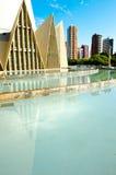 Maringa - Brazil. Maringa, Brazil - May 17, 2014: Minor Basilica of Our Lady of Glory, Maringa, Parana, Brazil Royalty Free Stock Photos