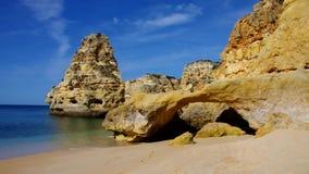 Marinha пляжа Алгарве акции видеоматериалы