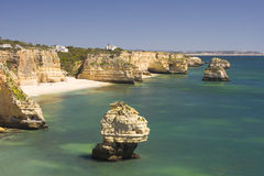 Marinha beach Stock Photography