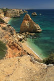 Marinha beach, Algarve Royalty Free Stock Image
