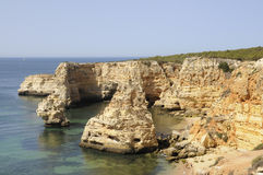 Marinha Beach, Algarve Royalty Free Stock Photo