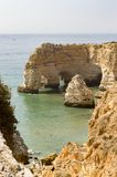Marinha beach, Algarve, Portugal royalty free stock photos