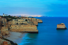 Marinha Beach near Lagoa, Algarve, Portugal. Stock Photo