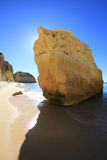 Marinha beach rock Royalty Free Stock Images