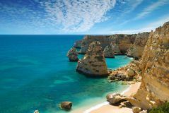 Marinha Cove Stock Photos