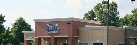 Marinha Credit Union federal fotos de stock royalty free