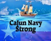 A marinha de Cajun Fotografia de Stock Royalty Free
