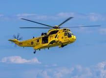 Marinha real Sea King Helicopter Imagem de Stock Royalty Free