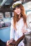 Marinheiro da mulher Imagens de Stock