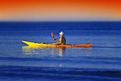 Marinheiro do caiaque Imagem de Stock Royalty Free