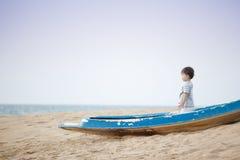 Marinheiro pequeno Fotografia de Stock Royalty Free