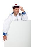 Sorriso do marinheiro imagem de stock