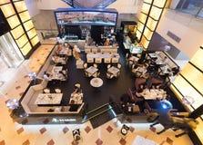 Marini咖啡店在Suria KLCC,马来西亚 库存图片