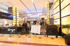 Marini在Suria KLCC购物中心,马来西亚的咖啡店 免版税库存照片