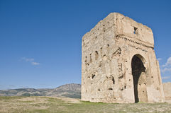 Marinid tombs at Fez, Morocco Stock Image