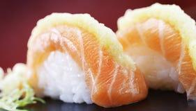 Marinierte Sushi Stockfotografie