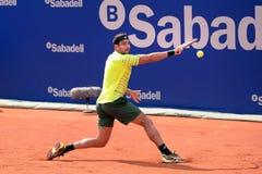 Marinko Matosevic (tennis player from Australia) plays at the ATP Barcelona Stock Image