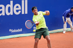 Marinko Matosevic (tennis player from Australia) plays at the ATP Barcelona Open Banc Sabadell Stock Images