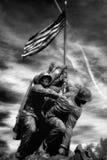 Marinkorpraler kriger minnesmärken   Royaltyfri Foto