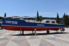 Marinmuseum (Museu de Marinha) i Lissabon, Portugal royaltyfria foton