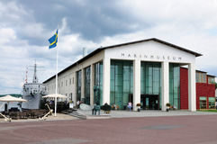 Marinmuseum (Navy Museum), Karlskrona Sweden Royalty Free Stock Photos