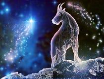 Marino capra di capricorno Immagine Stock Libera da Diritti
