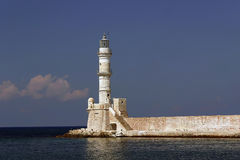 Marino luce in Chania, Creta, Grecia Fotografie Stock Libere da Diritti