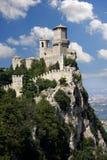 marino SAN της Ιταλίας κάστρων Στοκ φωτογραφίες με δικαίωμα ελεύθερης χρήσης