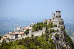 marino san замока Стоковые Изображения RF