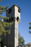 marino san замока стоковая фотография