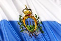 marino san флага Стоковые Изображения RF