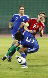 marino SAN 0 8 Ουγγαρία εναντίον Στοκ Εικόνα