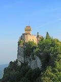 marino san cesta замока Стоковая Фотография RF