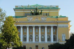 Marinsky Theater - Saint Petersburg, Russia Stock Image