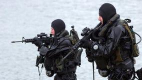 Marinskyddsremsor Fotografering för Bildbyråer