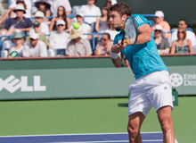Mario Ancic at the 2010 BNP Paribas Open Stock Images